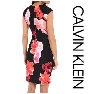 Calvin Klein orchid dress